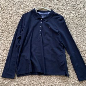 NWT Women's Tommy Hilfiger Long Sleeve Polo
